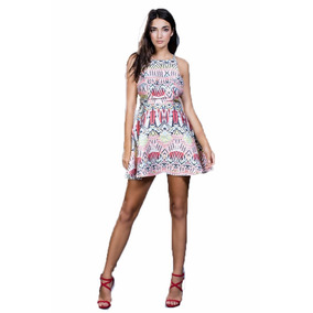 Vestido Ark & Co. Con Estampado Rosa