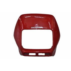 Carenagem Do Farol Honda Nx 200 C/ Adesivo 95/96/97 Vermelho