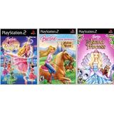 Patch 3 Jogos Da Barbie Para Ps2 É Patch