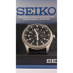 Relógio Seiko 5 Sports Military Most.preto Automático+frete