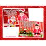 Cartão De Natal Personalizado 12 Unidades 15x10