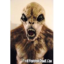 Disfraz Chupacabras Mascara Halloween Terror Miedo Realista