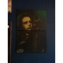 Cuadro. Jim Morrison. Acriico. 4 Partes