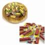 Importados Japao # Kit 20 Mini Snacks Jerky Carne E Queijo