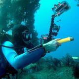 Lanterna Sub Aquática 628000w 2940000 Lumens Q5 Prova Dágua