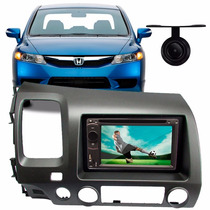 Dvd 2 Din Multimidia New Civic 2011 Usb Bluetooth Tv Camera