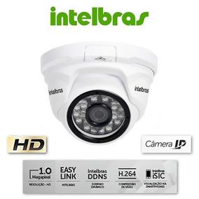Câmera Ip Intelbras Vip 1120d Ir 20m Dome 720p 1mp Hd 3.6mm