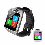 Relogio Bluetooth Smartwatch Celular Chip Gsm Monitor Passo