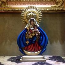 Talla Virgen De Chiquinquirá