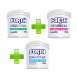 Kit Completo Adubo Forth - Peters Para Orquídeas