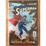 Dc Comics Os Novos 52! Superman Nº 13 - Inferno Na Terra