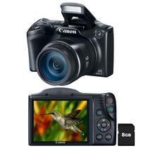 Câmera Digital Canon Powershot Sx400is Preta 16.0mp