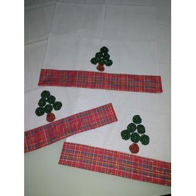 Presente Natal - Pano De Prato Decorado Natal - L´artigiana