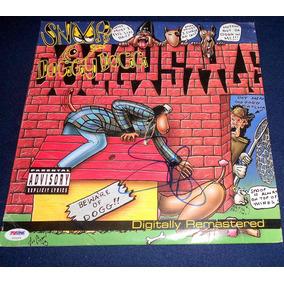 Disco Autografiado Snoop Dogg Doggystyle Rap Vinyl Lp Album