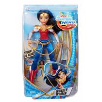 Dc Super Hero Girls Wonder Woman 30cm De Mattel Es Nueva