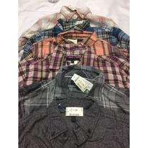 Camisas Aeropostale Ae 100% Originales, En Franela, S, M Y L