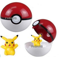 Juguete Pokemon Pokebola + Figura Pokeball Go Pikachu Niño