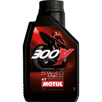 Aceite Lubricante Motul 300v 4t 100% Sintetico 15w50 / 5w40