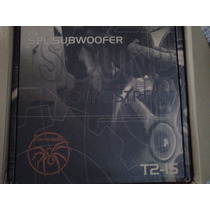 Subwoofer Soundstream T2-15 Spl, 1200watts Rms Nuevo