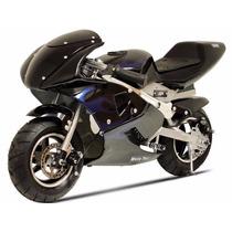 Scooter Electrico Motocicleta Mototec 36 Volts Negro Veloz