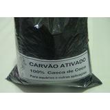 Carvão Ativado Para Aquário Marinho E Outros.1 Kg Casca Coco