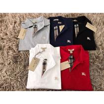 Camisa Polo Burberry Importada Original Pronta Entrega Top