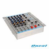 Mesa De Som Oneal Omx-412 4 Canais + 1 Aux Rca (bivolt+12v)