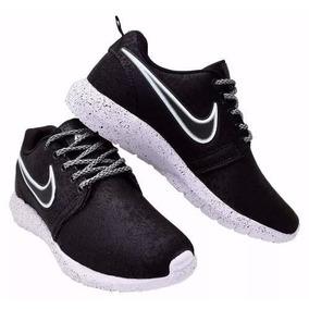 Tênis Nike Masculino Feminino Roshe Flyknit Macio Caminhada