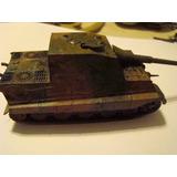 Tanque Aleman 2° Guerra Mundial 1/87 H0