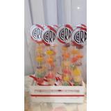 Candy Bar 10 Brochettes De Gomitas Personalizado