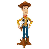 Toy Story Boneco Xerife Woody Roundup 45 Frases Multikids