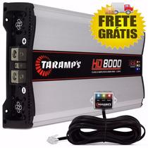 Módulo Amplificador Hd-8000 Taramps 8000w + Sd-800