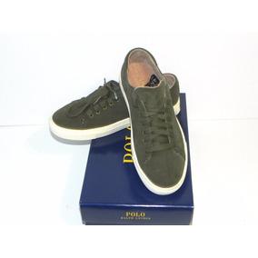 Zapatillas Polo Ralph Lauren Jermain Sk Gamuza Usa 14 Us14