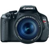 Cámara Canon Eos Rebel T3i Réflex Digital Con Objetivo Ef-s