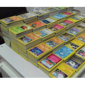 Lote Cartas Pokemon - 200 Cartas Pokémon + 20 Cartas Raras