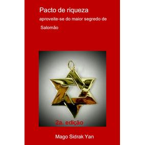 Pacto De Riqueza Ritual Do Rei Salomão Livro Impresso A5