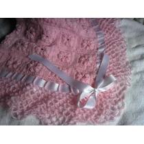 Mantilla O Manta Para Cuna Crochet