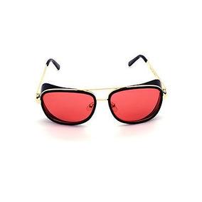 Oculos 2014 Homem De Ferro 3 Matsuda Ray Tony Gold Vermelha
