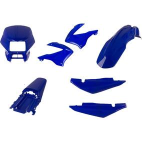 Carenagem Nxr Bros 125 Azul Ano 2003 / 2004 Kit Completo