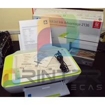 Impressora Hp Multifuncional Ink Advantage 2136 Leia Anuncio
