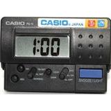 Relógio Despertador Casio Portátil Pq-10-1r - Preto