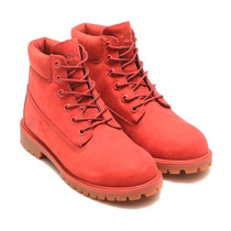 Bota Timberland Waterproof Jr. Roja A1kph 2017 Look Trendy