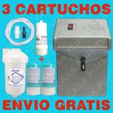 Planta Ozono Gr + Filtro Agua + Kit+ 3 Cartuchos G R A T I S