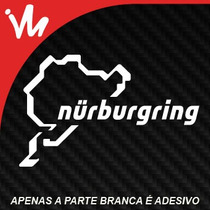 Adesivo Nurburgring Bmw Vw Audi Euro Rebaixado Sticker Look