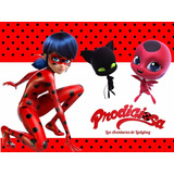 Kit Imprimible La Prodigiosa Ladybug Fiesta Cumpleaños Torta