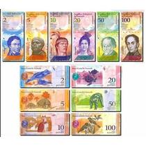 Colección Completa De La Serie Actual De Venezuela