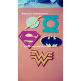 Simbolo Heroi Batman Enfeite Lembrancinha 10 Unid 10cm