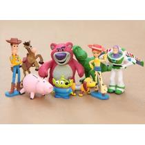 Toy Story Woody Jessie Buzz Lightyear Alien Bala No Alvo Rex