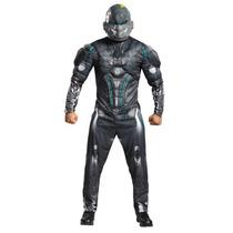 Disfraz Halo Spartan Locke Hombre Traje Con Musculos Adulto