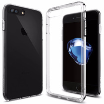 Funda Spigen Ultra Hybrid Iphone 7 Plus - Transparente